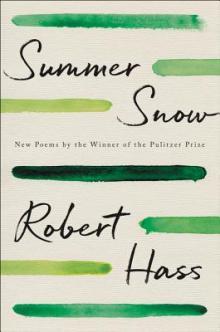 Robert Hass Point Reyes Books